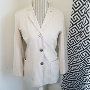 Saks Fifth Avenue | Silk Blazer